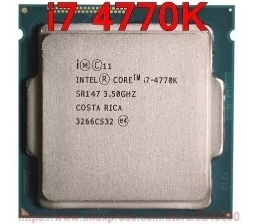 Processador Intel Core I7 4770k 3.9 Ghz Socket 1150 4º Ger
