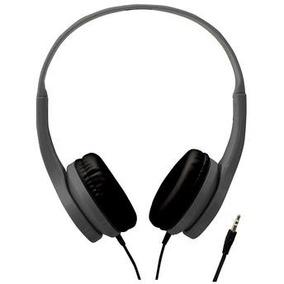 Headphone Cinza C/ Plug P2 Cabo 1,2 M V13009_ph