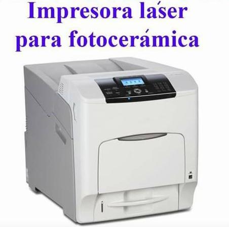 Impresora Para Calcos Vitrificables Láser Color A4-440