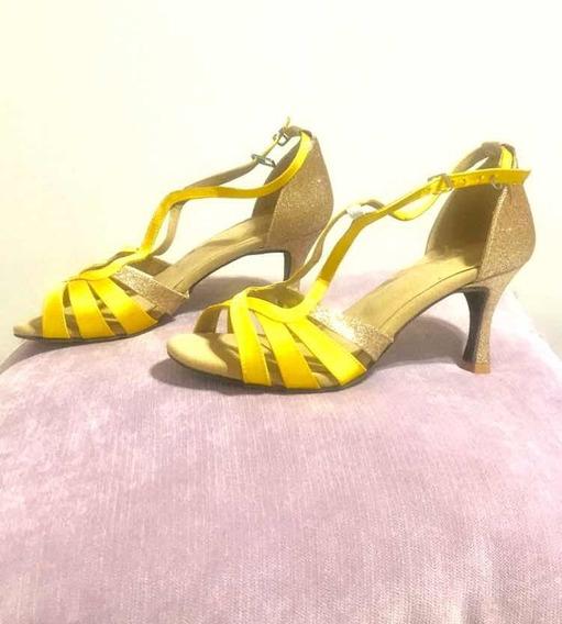 Zapatos Nuevos De Baile Mujer- Talle 37