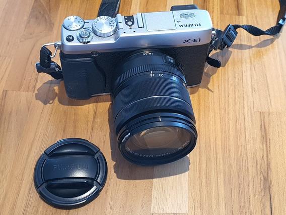 Câmera Fuji X-e1 + Lente 18-55 2.8 Fujifilm + Pára-sol