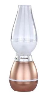 Lampião Luminária Led Avant 1,5w 3000k Recarregavel