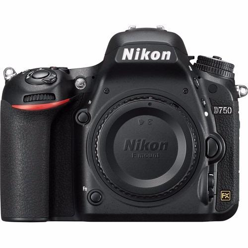 Câmera Nikon D750 24.3(somente Corpo) Full Frame 12x S/juros