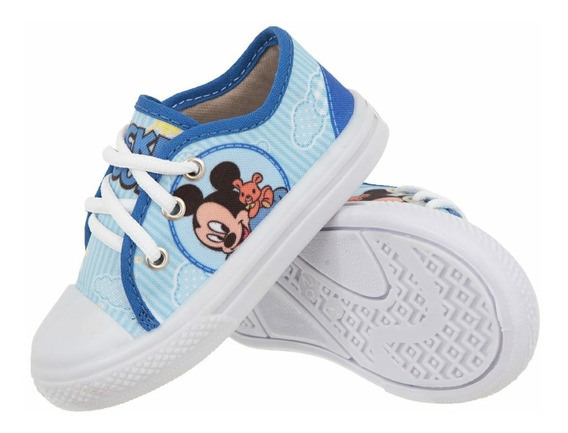 Tênis Infantil Mickey Escola Passeio Ferias
