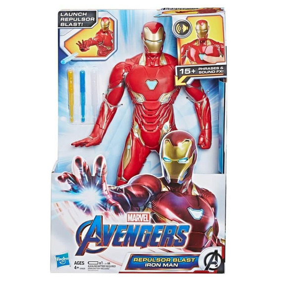 Marvel Avengers: Endgame - Iron Man Rayo Repulsor E4929