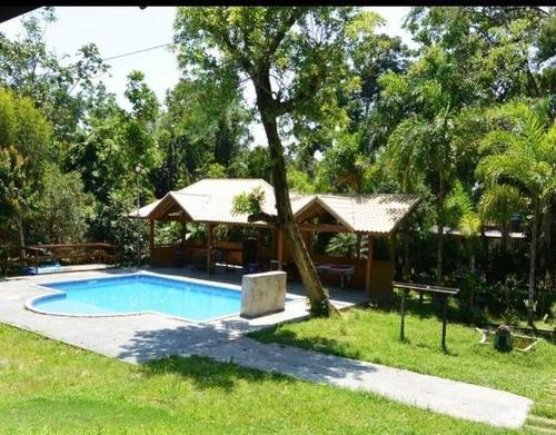 Chácara Para Venda Em Peruíbe, Ana Dias, 3 Dormitórios, 1 Suíte, 1 Banheiro, 10 Vagas - Pe018_2-1173640