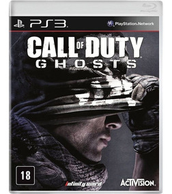 Call Of Duty Ghosts Ps3 Midia Fisica Blu-ray Game Lacrado Cd