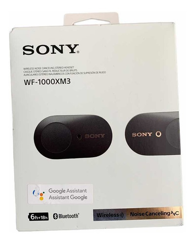 Audífonos Sony Bluetooth Con Noise Cancelling  - Wf-1000xm3