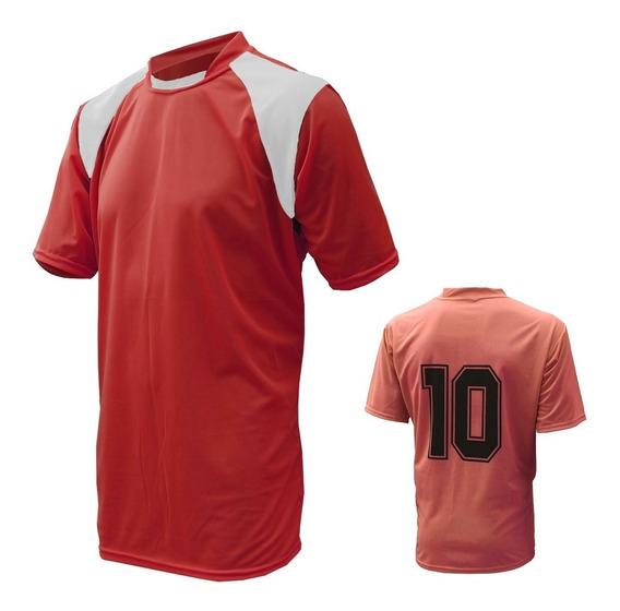 Jogo Com 15 Camisas De Futebol Numerada