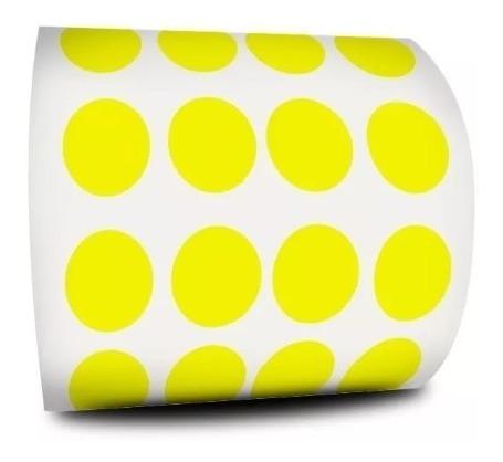 Etiqueta Bolinha 1,1cm Colorida 1000 Etiquetas