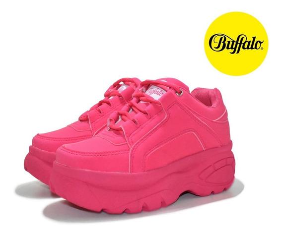 Tênis Buffalo Feminino Chunky Sneaker Cano Alto Frete Grátis