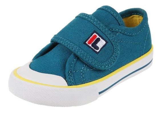Zapatillas Fila Baby 3 Infantil - Turquesa