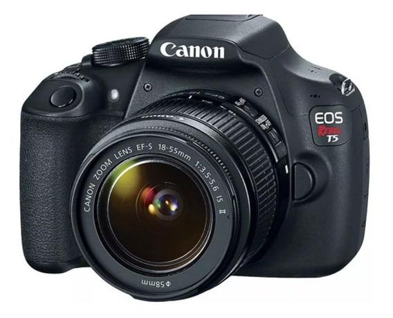 Canon T5 Com Lente 18 - 55mm