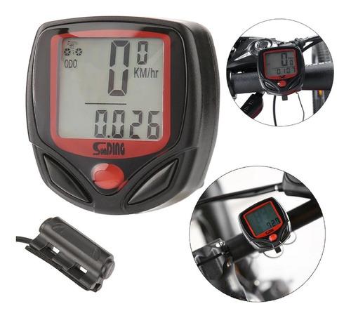 Imagem 1 de 4 de Velocimetro Digital Para Bicicleta Com 15 Funções* Promoção*
