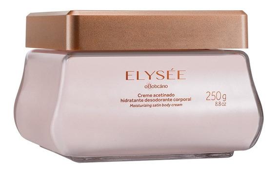 Elysée Creme Acetinado Hidratante Desodorante, 250ml