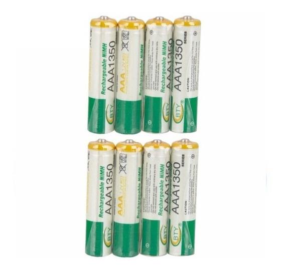 4 Pilha Aaa Recarregavel 1350mah 1,2v Nimh Bateria Bty