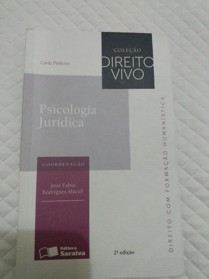 Livro Psicologia Jurídica - 2ª Edição
