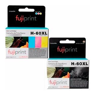 Cartuchos Alternativos Para Hp 60 Xl Color Y Negro