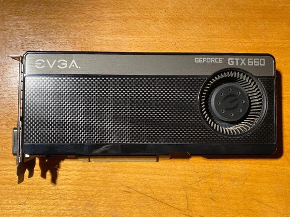 Placa De Video Evga Geforce Gtx 660 2gb Ddr5 Superclocked