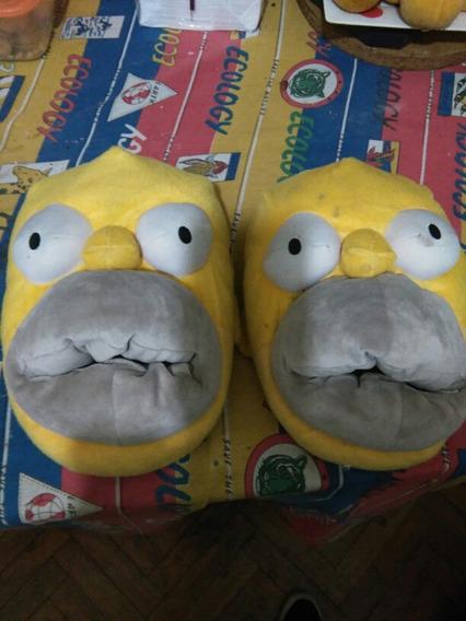 Pantuflas Homero Simpson T. 44