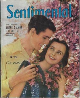 Revista Sentimental Nº 25 Editora Vecchi Fotonovela