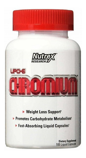 Lipo 6 Chromium (90cáps) - Nutrex Research