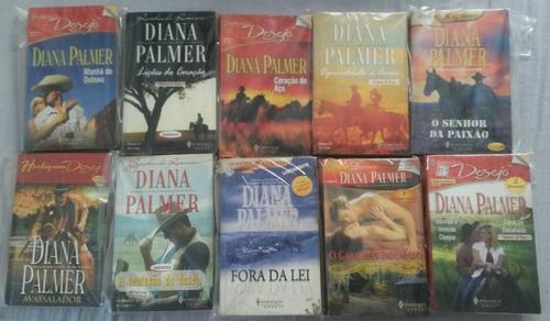 Kit  20 Livros De Romances De Banca Usados  Da Diana Palmer