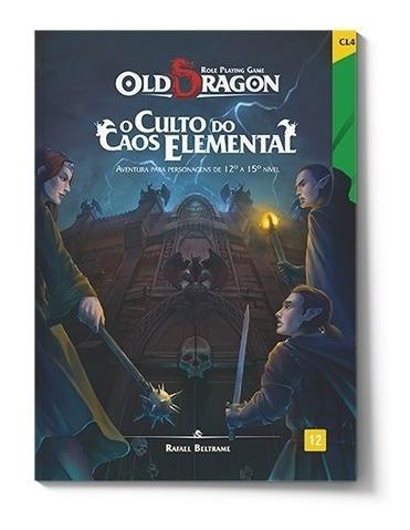 Livro Rpg - Old Dragon - O Culto Do Caos Elemental