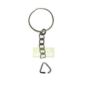Llaveros De Metal Argolla C/cadena X 100 Unid
