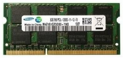 Memoria 16gb(2 X 8gb Ddr3 Pc3l-12800,1600mhz,204 Pin Sodimm