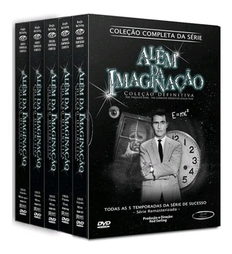 Box Dvd Além Da Imaginação Coleção Completa Da  Série