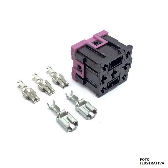 Porta Fusivel 5 Pinos Reles Com Terminal - Uso Geral