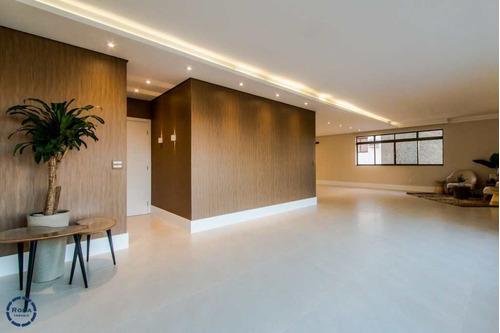 Apartamento Com 3 Dorms, Boqueirão, Santos - R$ 1.750.000,00, 240m² - Codigo: 8554 - V8554