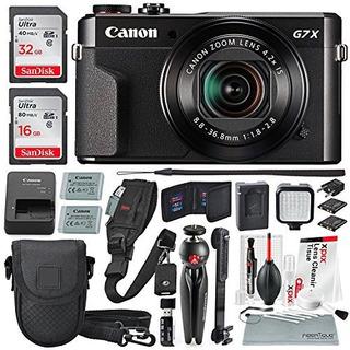 Kit De Creador De Video De Camara Digital Canon Powershot G7
