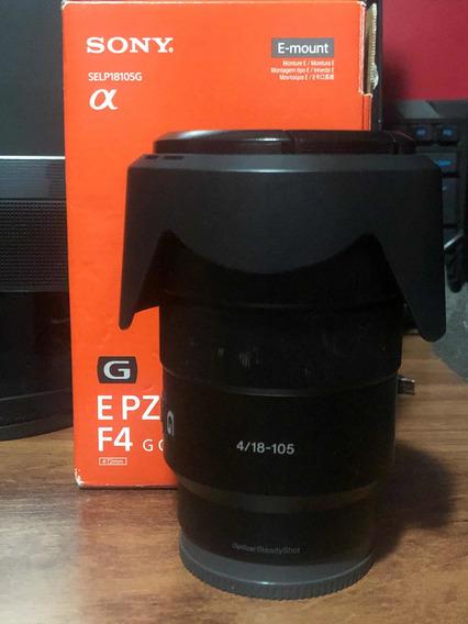 Lente Sony 18-105 F/4 G Oss E-mount Aps-c
