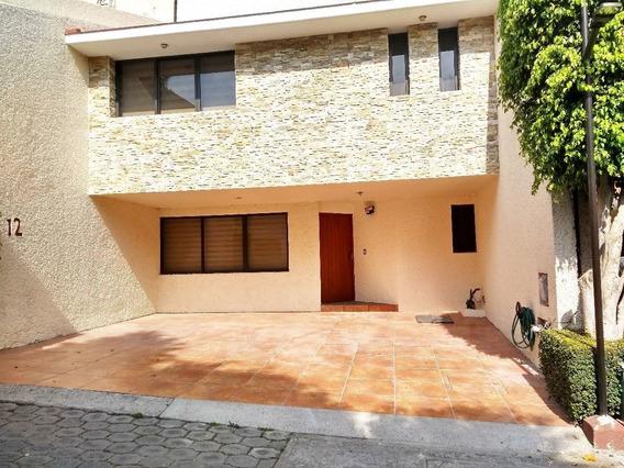 Casa En Condominio En Arenal Tepepan, Tlalpan A Una Cuadra Del Periférico.