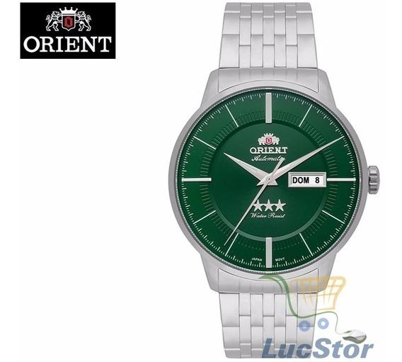 Relogio Orient 469ss061 E1sx Automatico Masculino Prata