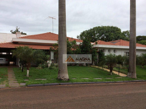 Casa Residencial À Venda, Jardim Recreio, Ribeirão Preto. - Ca0938