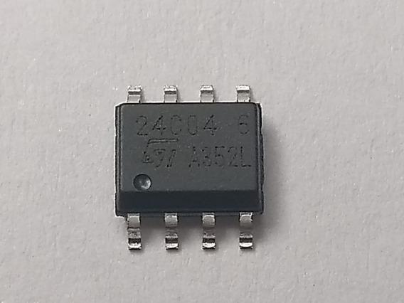 50 Pçs 24c04 Smd So-8 (m24c04mn6t) Novo Original