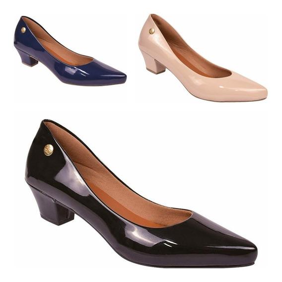 Kit 03 Pares Sapato Feminino Scarpin Varios Modelos Confort