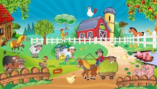 Fazenda Fazendinha Painel Lona Festa Aniversário