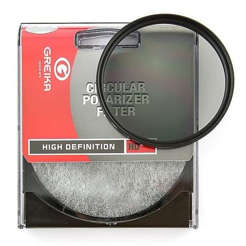 Filtro Polarizador Circular Greika 82mm Nfe Garantia Sjuros