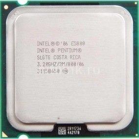 Processador Intel E5800 De 3,2ghz .775