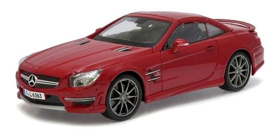 Miniatura Mercedes Benz Sl63 Amg Hard Top Maisto 1/18