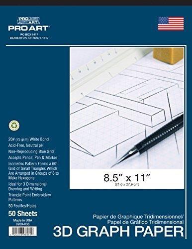 Almohadilla Isometrica Pro Art, 8.5 X 11