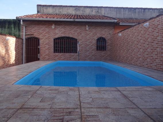 Casa Na Praia Com Piscina Mongaguá Ref 7364 C