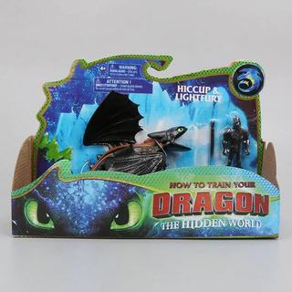 Entrenando A Mi Dragon Chimuelo / Furia Luminosa - Importado