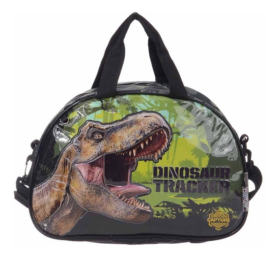 Bolso Oval Playa Pileta Dinosaurios Jurassic World - Wabro