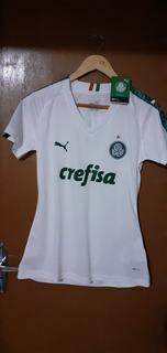 Camisa Palmeiras Away 2019 Feminina (baby Look)