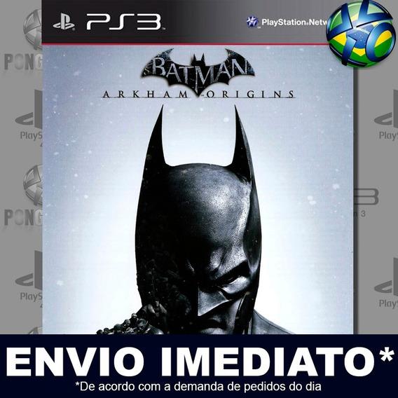 Batman Arkham Origins Ps3 Digital Psn Jogo Em Promoção